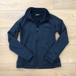 North Face Agave full zip in cosmic blue